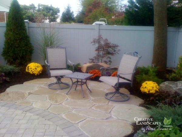Let Creative Landscapes By Patrick Thomas Design A Natural Stone Patio That  Meets Your Needs And Exceeds Your Expectations.