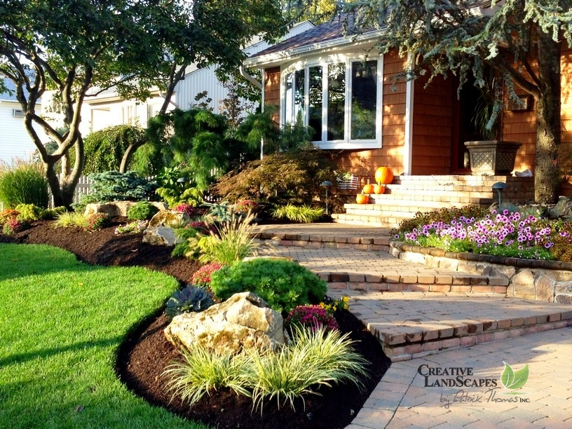 Home Lawn Design Of Landscape Design Planting Creative Landscapes
